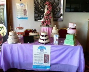 Our stand at the Perfect Bliss Wedding Fayre in the White Horse Hotel in Derry on Sunday 24th February 2013.